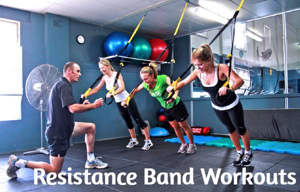 Workouts using Best Resistance Bands
