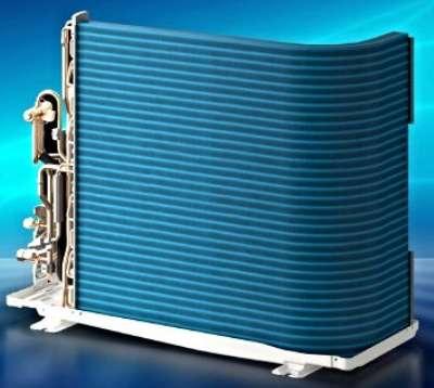 blue fin condenser coils in ac