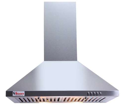 Clean Kitchen Chimney with Baffle Filters