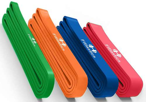 fitlastics resistance bands for men and women