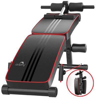 Dolphy Adjustable Sit Up Bench