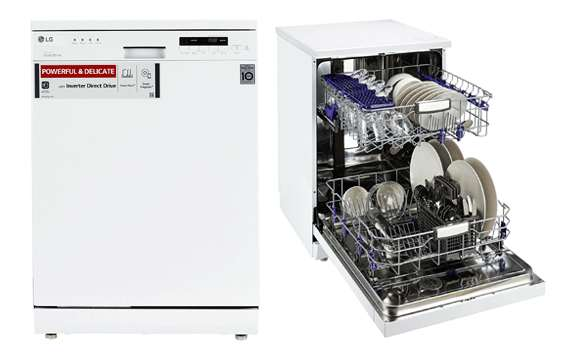LG Dishwasher Free-Standing 12 Place Settings