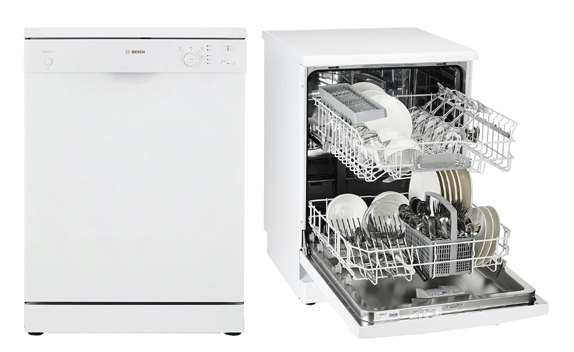 Bosch Dishwasher Free-Standing with 12 Place Settings