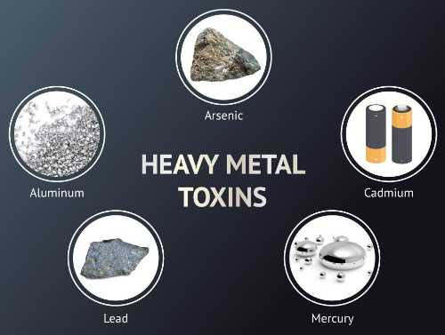 Heavy metals found in drinking water