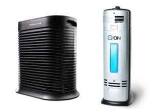 HEPA Purifier vs Ionizer Technology