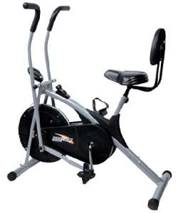 Body Gym Exercise Cycle with Backrest