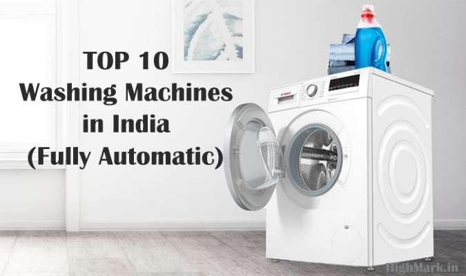 Top 10 Fully Automatic Washing Machines India