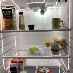 Brighter Indoor Lighting in Refrigerators