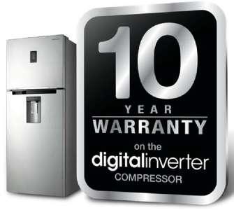 Refrigerator with Digital Inverter Compressor
