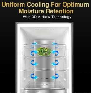Uniform Cooling Technology in Refrigerator