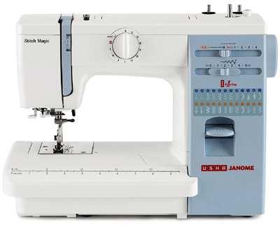 usha janome stitch magic 70-watt sewing machine