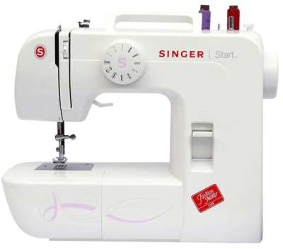 singer start 1306 sewing machine white