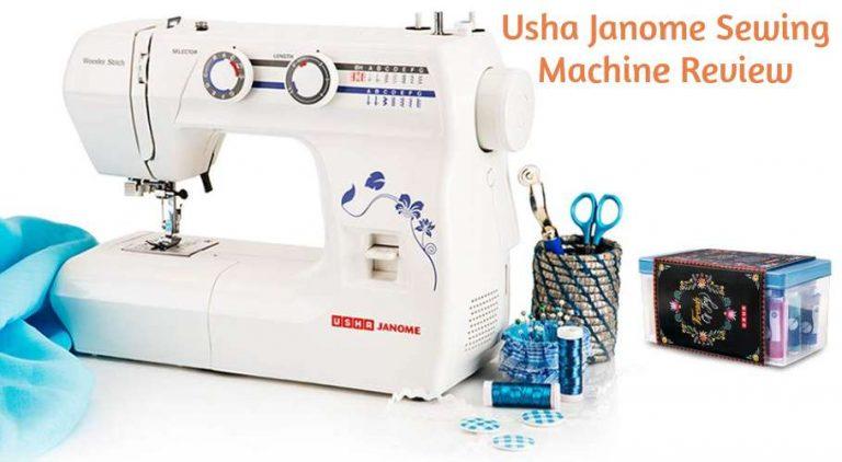 Usha Janome Wonder Stitch Sewing Machine Review
