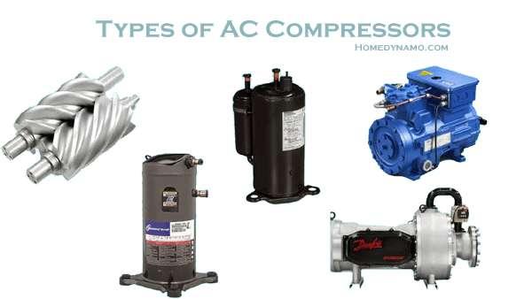 ac compressor types