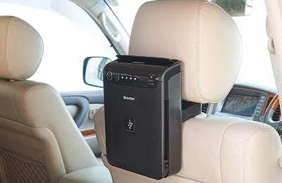 Sharp air purifier for Car cabin