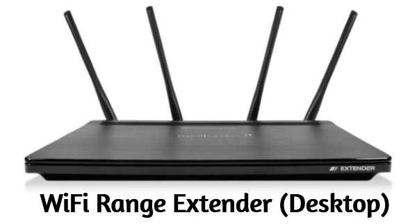 Desktop WiFi Repeaters/Range Extenders