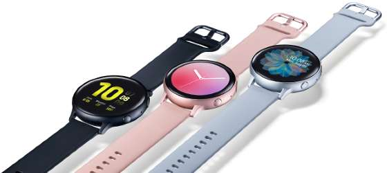 Samsung Galaxy Watch Active 2 Display Colors
