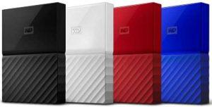 WD 1TB Portable External Hard Disk