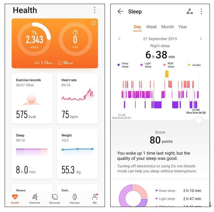 Sleep Tracking Not Working on Honor Band 5, 4 and 3 Models