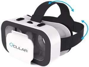 ocular swift smart vr glasses