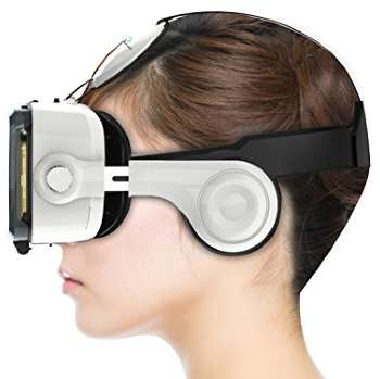 oculus grand vr glasses with headphones