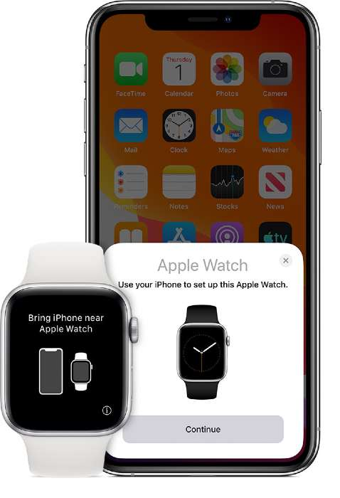 Connect Apple Watch and iPhone