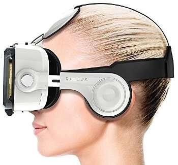 procus pro vr glasses with headphones