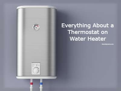 Water Heater Thermostat Settings